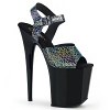 Plateau High Heels Flamingo-808N-CK