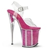 Plateau High Heels Flamingo-808SRS