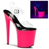Plateau High Heels Flamingo-808UV
