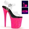 Plateau High Heels Flamingo-808UVG