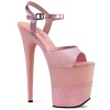Plateau High Heels Flamingo-809-2G baby pink