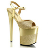 Plateau High Heels Flamingo-809-2G gold