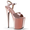 Plateau High Heels Flamingo-809 rose gold