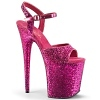 Plateau High Heels Flamingo-810LG pink