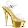 Plateau High Heels Kiss-208CH gold