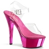 Plateau High Heels Kiss-208CH pink