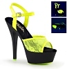 Plateau High Heels Kiss-209ML gelb