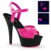 Plateau High Heels Kiss-209ML pink