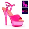 Plateau High Heels Kiss-209UVT pink