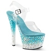 Plateau High Heels Sky-308Fish
