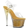 Plateau High Heels Sky-308G-T gold