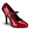 Plateau Lack Pumps Tempt-35 rot