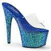 Plateau Pantolette Adore-701LG blau