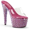 Plateau Pantolette Bejeweled-701MS pink