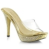 Plateau Pantolette Elegant-401 gold