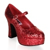 Plateau Pumps MaryJane-50G rot