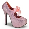 Plateau Pumps Teeze-04R baby pink