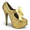 Plateau Pumps Teeze-04R gold