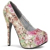 Plateau Pumps Teeze-06-6 Flower Power