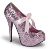 Plateau Pumps Teeze-10G baby pink