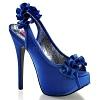 Plateau Pumps Teeze-56 blau
