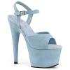 Plateau Sandalette Adore-709FS baby blau