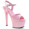 Plateau Sandalette Aspire-609 baby pink