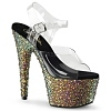 Plateau Sandalette Bejeweled-708MS multicolor