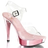 Plateau Sandalette Cocktail-508 baby pink