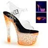 Plateau Sandalette Crystalize-308PS orange