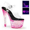 Plateau Sandalette Crystalize-308PS pink