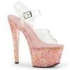 Plateau Sandalette Crystalize-308TL baby pink