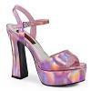 Plateau Sandalette Dolly-09 pink