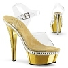Plateau Sandalette Kiss-208RS gold
