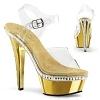 Plateau Sandalette Kiss-208RS gold