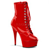 Plateau Stiefel Delight-1020 rot