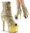Plateau Stiefelette Adore-1008SQ gold