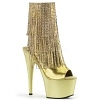Plateau Stiefelette Adore-1024RSF gold
