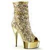 Plateau Stiefelette Delight-1008SQ gold