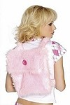 Plüsch Schultasche baby pink
