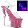 Pole Dance Heels Adore-708UVG pink