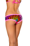 Pole Dance Shorts Neon Daisy