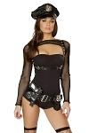 Police Cop Kostüm - Polizei Kostüm