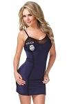Polizei Kostüm Kleid