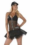 Polizei Kostüm Kleid - Police Cop Bayli