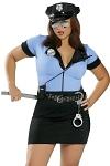 Polizei Kostüm Sergant Sexy