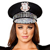 Polizeimütze mit Strass -  Polizei Cap