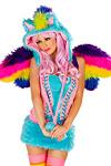 Rainbow Pony Kapuze - JValentine USA