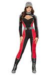 Rennfahrer Kostüm - Boxenluder Anzug