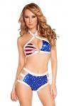 Retro GoGo Bikini American Patriot